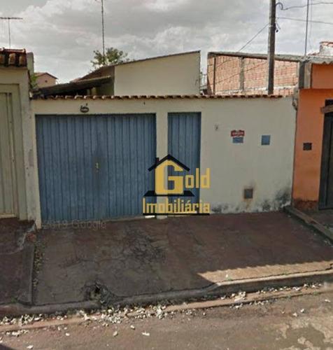 Casa Com 1 Dormitório À Venda, 44 M² Por R$ 175.000 - Jardim Zara - Ribeirão Preto/sp - Ca0874