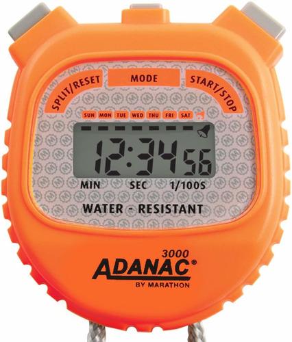 Marathon Adanac 3000 - Cronómetro Digital, Resistente Al