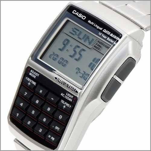 Relógio Casio Dbc 32d-1adf Databank 25 Fone Calc. Nf-e