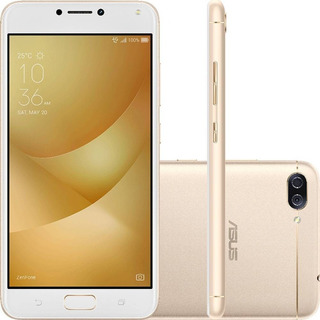 Asus Zenfone 4 Max Zc554 16g 4g Dourado + Nf