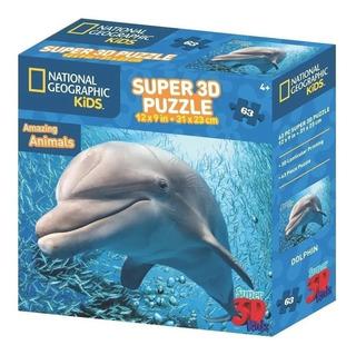 Puzzle 150 Pzas 3d Holograma Rompecabezas National Geographi