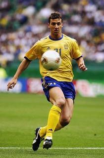 Suecia Zlatan Ibrahimovic Mundial 2002