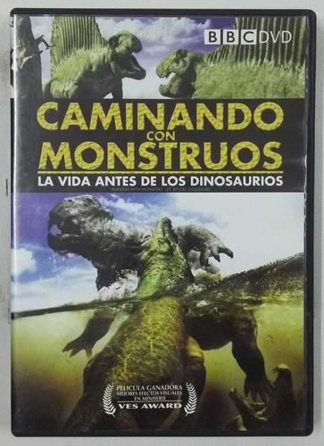 Dvd Caminando Con Monstruos La Vida Antes De Los Dinosauros