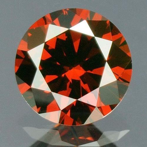 Diamante Rojo R4 2.5mm 100% Naturales