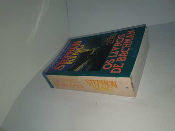 Os Livros De Bachman - 12x Sem Juros - Frete Grátis