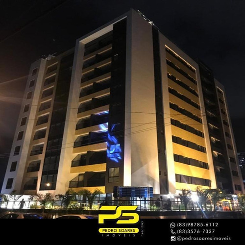 (oportunidade)  Apartamento Com 2 Dormitórios À Venda, 64 M² Por R$ 419.000 - Manaíra - João Pessoa/pb - Ap4231