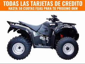 Cuatriciclo Quad Kymco Mxu 300 0km Urquiza Motos