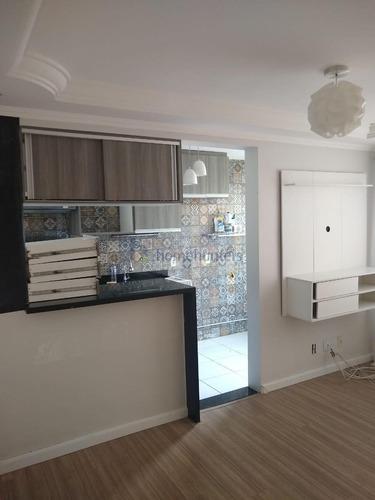 Apartamento Com 2 Dormitórios À Venda, 45 M² Por R$ 180.000,00 - Loteamento Parque São Martinho - Campinas/sp - Ap6567