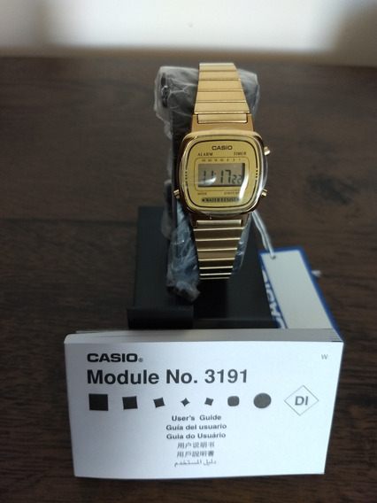 Relógio Casio Gold Classic No. 3191