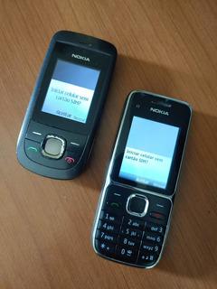Celulares Nokia C2-01 + 2220s-b