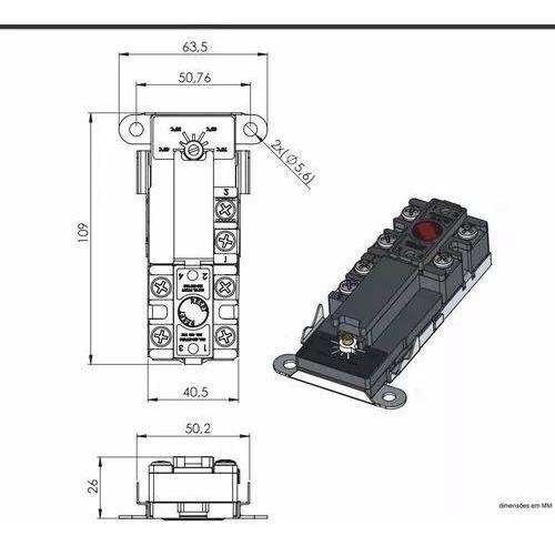 Kit 20 Unidades Termostato Com Reset + 10 Termostato Vareta