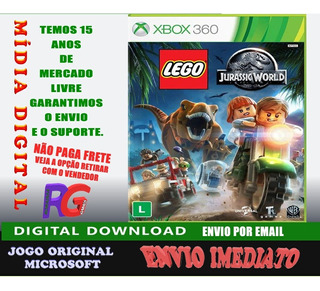 Lego Jurassic World Midia Digital Xbox 360 Roraima Games