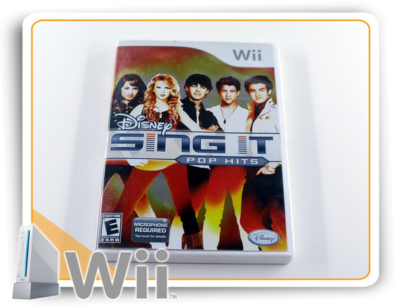 Sing It Pop Hits Original Nintendo Wii
