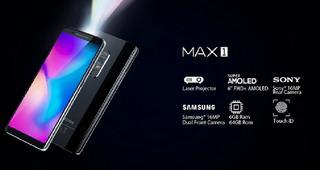 Blackview Max 1 Pro Projetor Embutido Top Linha.smartphone.