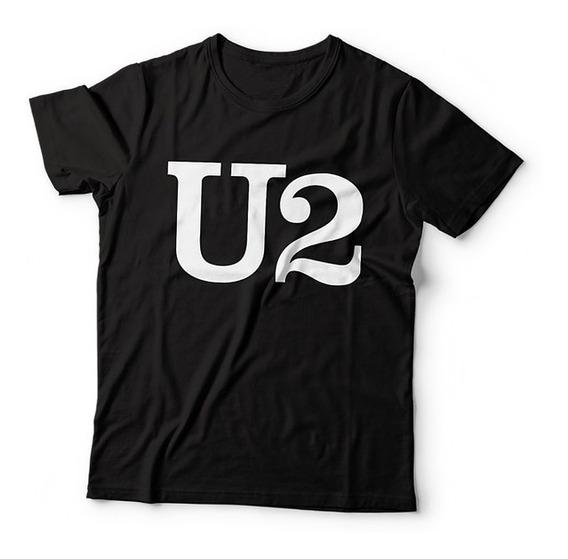 Camiseta U2 Camisa Banda De Rock Camiseta Estampada Camisas Personalizadas