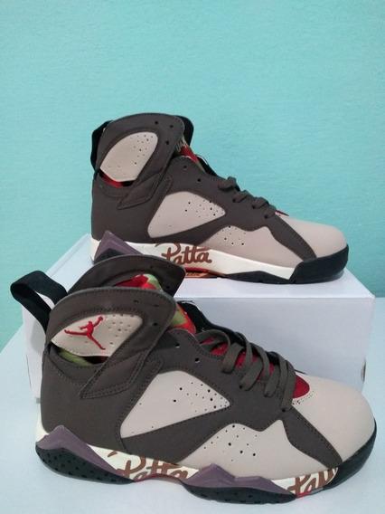 Tênis Nike Air Jordan 7 X Patta