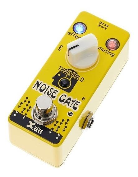 Pedal De Guitarra Xvive V11 Noise Gate Com Nota Fiscal