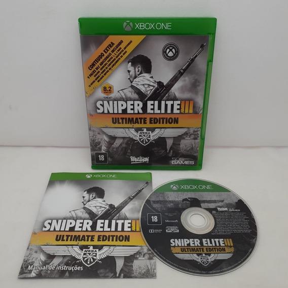 Jogo Usado Sniper Elite 3 Xbox One Em Estoque Oferta