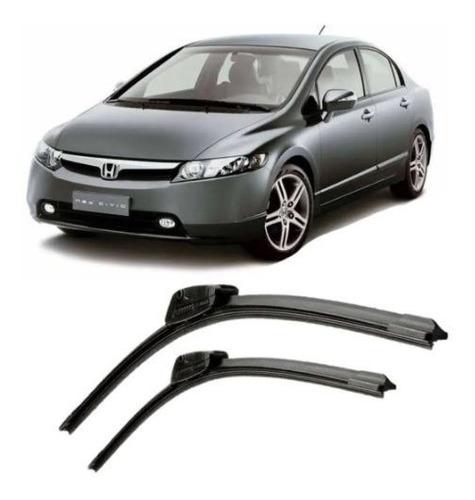 Imagem 1 de 4 de Palheta Par Honda Civic Até 2012