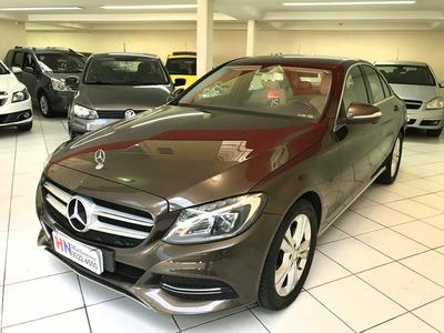 Mercedes C 180 2015 Bancos Caramelo Fin. 100%