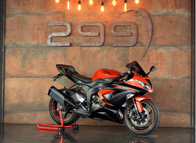 Kawasaki Ninja Zx6r 2014/2014 Com Abs