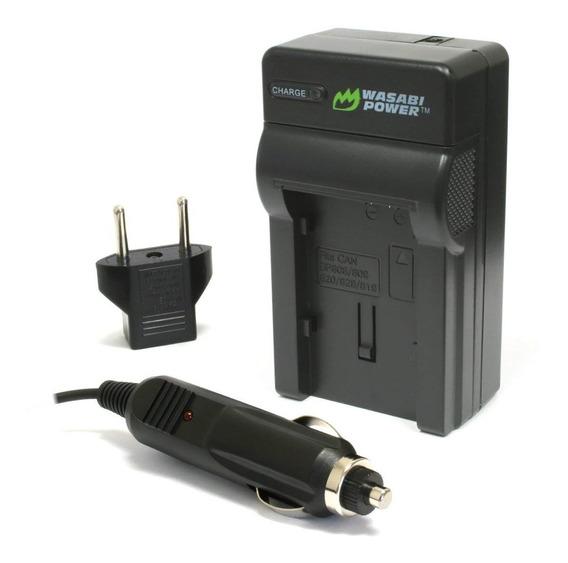 Kit De 1 Cargador + 1 Bateria Bp-827 Para Video Camara Canon