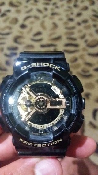 Relogio Casio G Shock Ga100 5146 Seme Novo Em Perfeito Estad