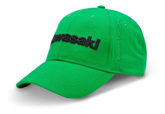 Gorra Original Kawasaki Verde - Ajustable