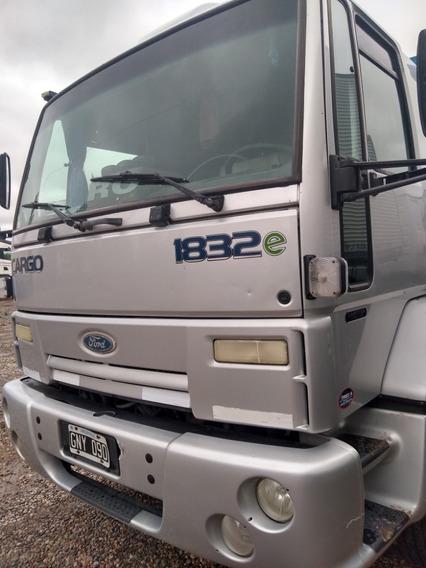 Ford Cargo 1832 Mod 2006 Con Equipo Hidraulico Recibo Menor