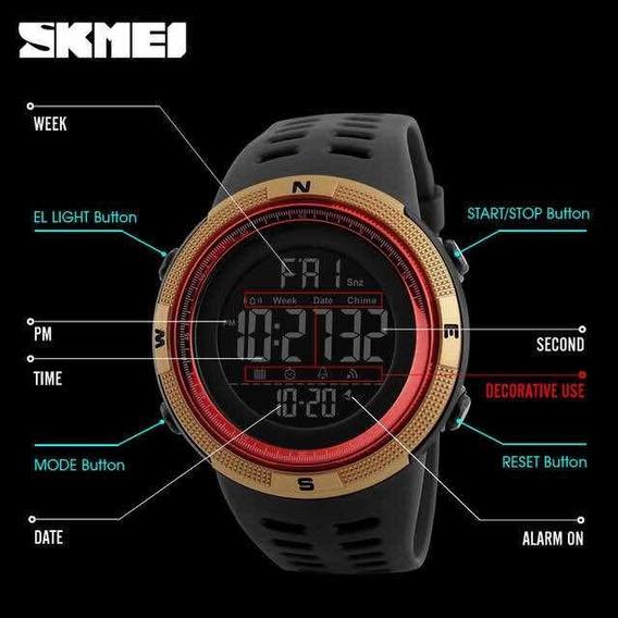 Relógio Skmei Digital Multifunções 2020