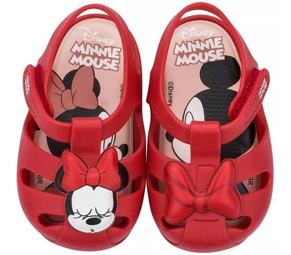 Sandália Sapatilha Infantil Baby Disney Minie 21932 Nova