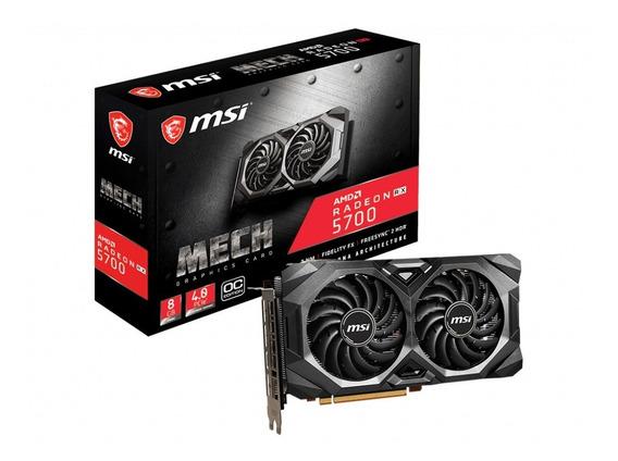 Placa De Vídeo Msi Radeon Rx5700 Mech Oc 8gb Gddr6/pci-e/dp
