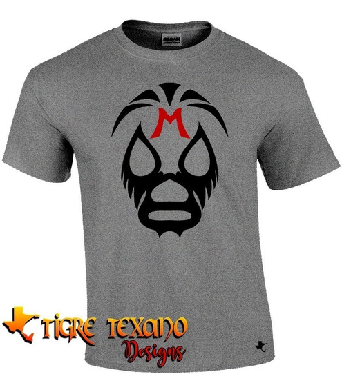 Playera Lucha Libre Mil Máscaras By Tigre Texano Designs