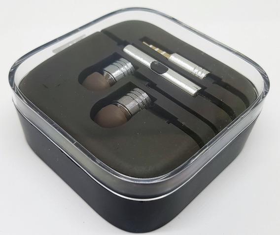 Fone De Ouvido Metal P2 Prata