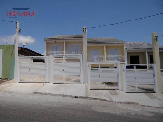 Sobrado Residencial À Venda, Jardim Santo Antonio, Franco Da Rocha. - So0744