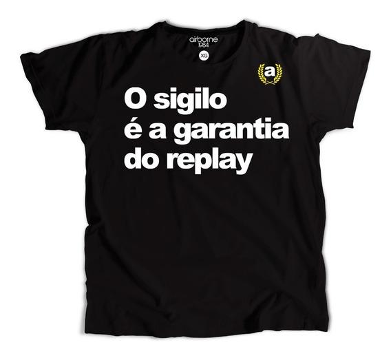 Camiseta Camisa Moda Tumblr Frases O Sigilo É A Garantia Do Replay Novidades