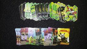 Tazo Cards Figurinhas Kung Fu Panda E Ben 10 N Elma Chips