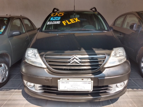 Citroën C3 1.6 16v X-tr Flex 5p 2008 Completo
