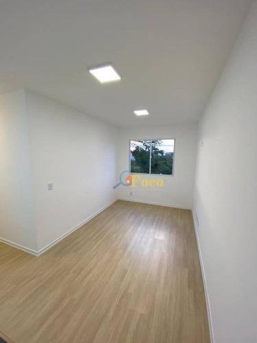 Imagem 1 de 28 de Excelente Apartamento, Com 2 Dormitórios À Venda, 45 M² Por R$ 180.000 - Residencial Angelo Fattori - Itatiba/sp - Ap0433