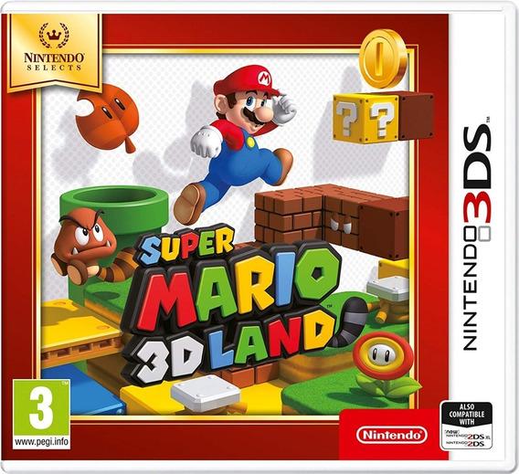 Super Mario 3d Land Jogo Nintendo 2ds 3ds New 3ds Lacrado