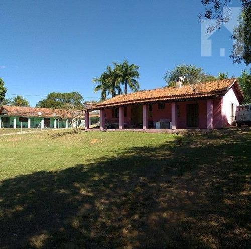 Imagem 1 de 11 de Chácara Com 4 Dormitórios À Venda, 2118 M² - Jardim Santa Elisa - Itupeva/sp - Ch0131