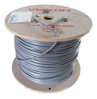 Bobina Cable Rg11 Marca Viakon 305 Mts Con Autosoportado