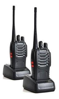 Walkie Talk Baofeng 2 Radios Profissional Função Vox Uhf Ht