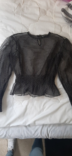 Blusa Organza Zara