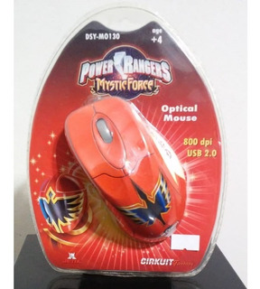 Mouse Circuit Planet Dsy-mo130 Power Rangers Usb