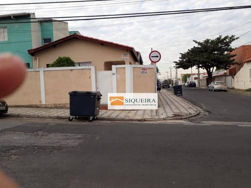 Casa Residencial Para Locação, Vila Assis, Sorocaba. - Ca0596