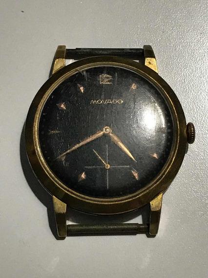 Relógio Masculino Antigo De Pulso Marca Movado