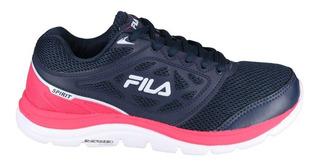 Zapatillas Fila Spirit W Azu/rsa/bco - Corner Deportes
