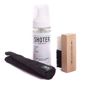 Kit Shoter Espuma Limpiadora Cepillo Paño -shoter16- Trip St