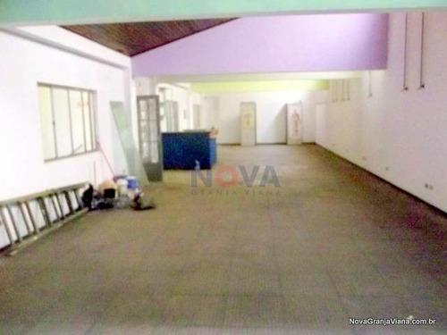 Imagem 1 de 4 de Salão Comercial Para Locação, Jardim São Vicente, Cotia - Sl0005. - Sl0005